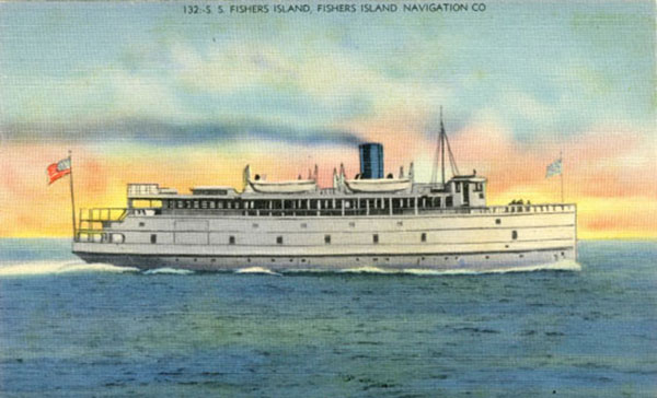 Fishers Island Ferries Over Time
