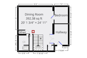 Hold the Fort floor plan